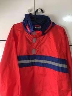 Red and Blue Windbreaker