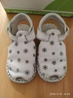 🚚 11.5-13.5cm真皮護趾涼鞋