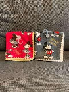 日本Disney Mickey & Minnie 毛巾