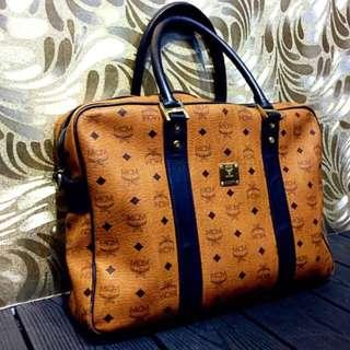 MCM Documents Bag with Sling