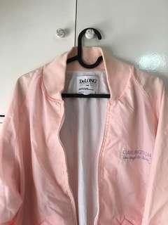 Unisex Pink Windbreaker