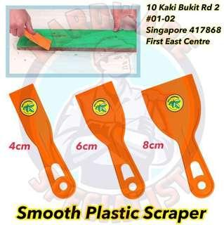 Heavy Duty Smooth Plastic Scraper
