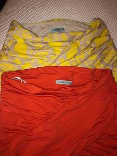 2x Kookai Skirts size 1