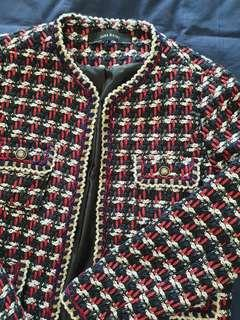 🚚 Reduced: Chanel-Inspired Tweed Jacket