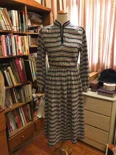🚚 日本製圖騰棉質洋裝