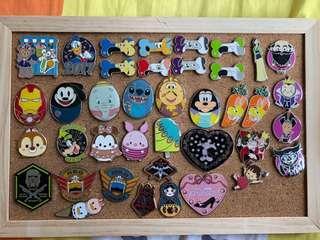 迪士尼徽章 Disney pin Game Pin 迪士尼襟章 可交換