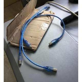 USB type a to type b printer cable
