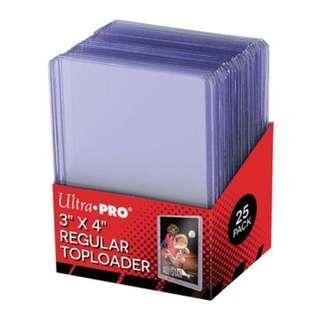 🚚 Ultra Pro 3x4 Regular Toploader