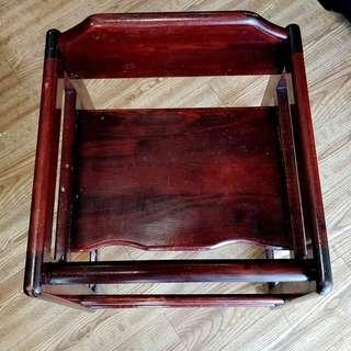 Rosewood Baby High Chair