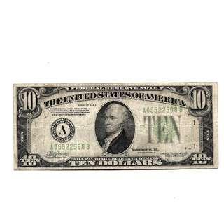 OLD 10 Dollar