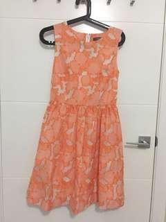 MARCS orange dress