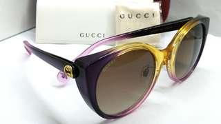 Authentic Gucci Sunglasses Eyewear GG0369S 005 with Individualized serial number