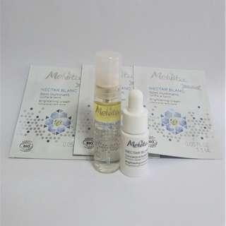 Melvita 有機透白光感活性美白(美容液 + 精華 + 面霜)套裝