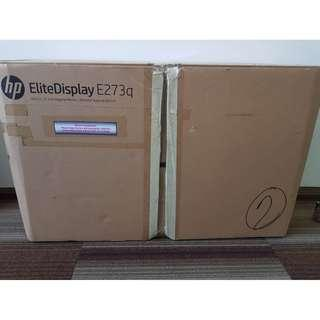 HP EliteDisplay E273q