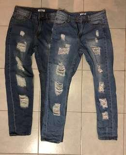 🚚 TEMT Ripped Jeans