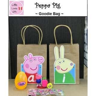 Peppa Pig Goodie Bags
