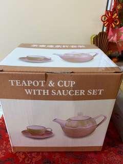茶壺連茶杯套裝