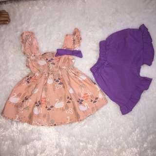 1set baju anak