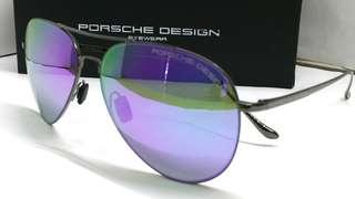 🚚 Authentic Porsche Design Sunglasses Aviator Style Mirror Coat P8991S