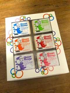 🚚 HOT Selling LAST BOX 🇦🇺Australia Goat Soap x6 in a BOX