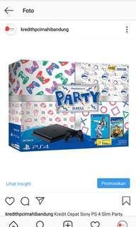 Kredit Sony PS 4 Party Resmi Proses Cepat