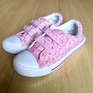 F&F Floral Canvass Sneakers (Size 30/ 4-6y)