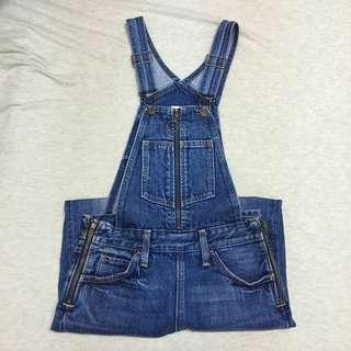 正品Levis  overall 吊帶褲/橘標/復古拉鍊