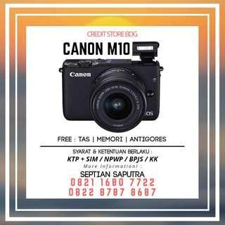Kredit Kamera Mirorless Canon M10