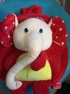 🚚 New Elephant haversack for Kindergarden kids / toddlers