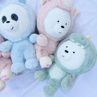 WE BARE BEARS (30CM) ❤