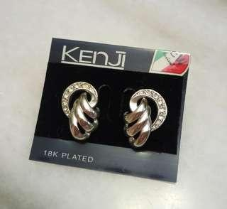 Kenji 18k Plated Earrings