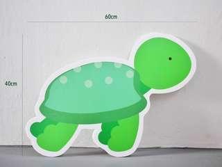 🚚 Sea Animals Turtle Tortoise Creatures Foamboard Floor Standee for Rent