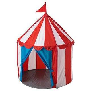 🚚 Circus Themed Children's Tent for Rent