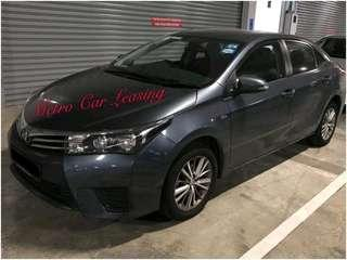 Toyota Altis For Grab Rental!! $500 Deposit Driveaway!! No Additional Surcharge!!