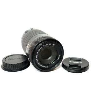 Canon EF-S 55-250mm f.4-5.6 IS STM Like New