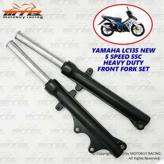 YAMAHA LC135 NEW 5 SPEED 55C HEAVY DUTY FRONT FORK SET