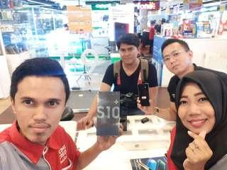 Kredit Samsung S10+ Tanpa CC Promo Bunga 0%