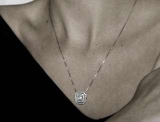 🚚 Authentic Emerald Diamond Necklace
