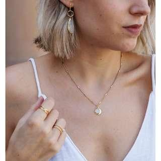 🚚 By Invite Only Gold Amie Necklace