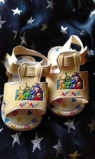 Squeak baby shoes teletubbies sandals