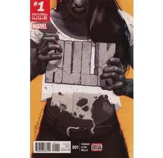 HULK #1 (2017) 1st issue!