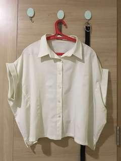 this is april white shirt