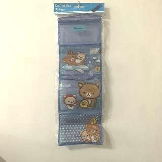 🚚 拉拉熊牆掛式收納袋置物袋儲物袋