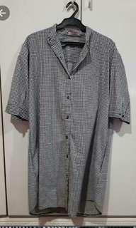 Chictees Checkerd shirt dress