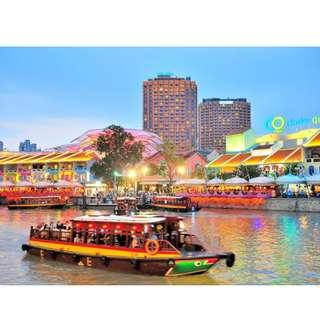 Singapore River Cruise / River Cruise by WaterB