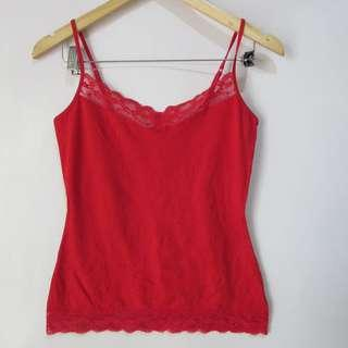 (M) Express cami top, adjustable straps, in almost looks new conditions