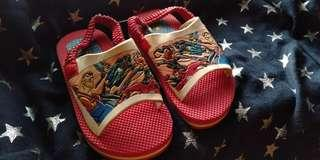 Justice league toddler sandals baby slipper
