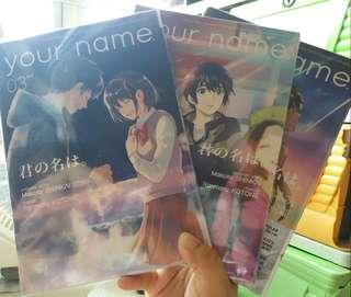 FREE SHIPPING! Your Name Complete Set Volumes 1-3