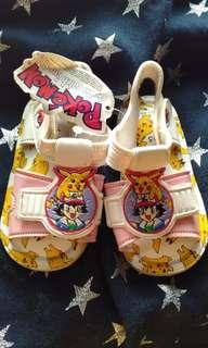 Pokemon squeak baby shoes