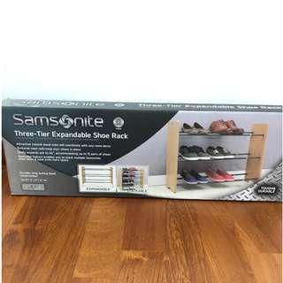 Brand New Three-Tier expandable shoe rack